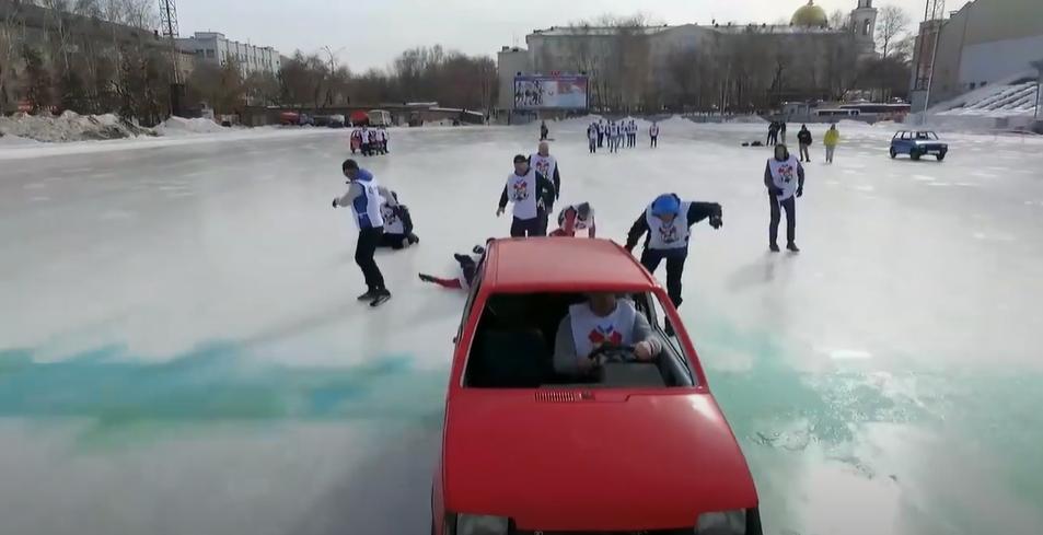 Curling De Carro