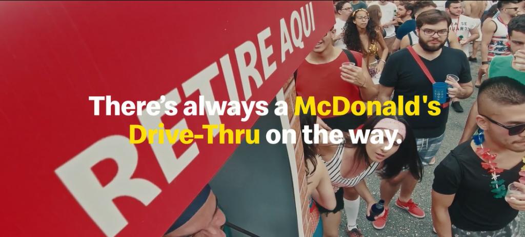 McDonald's Drive-Thru: Bloco-Thru