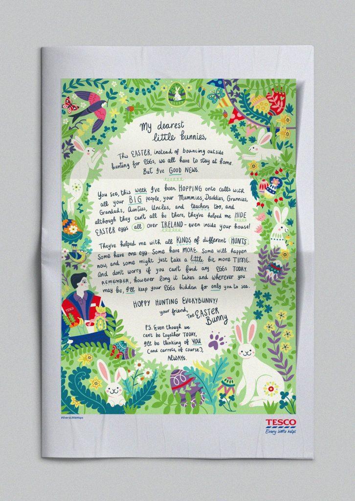 A Carta Do Coelhinho Da Páscoa