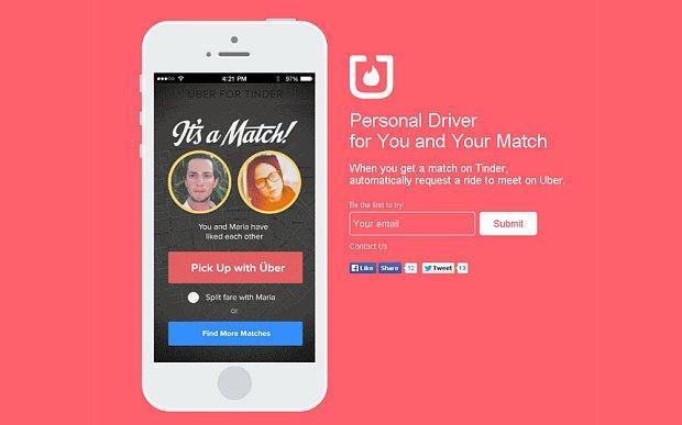 Dê Um Match No Seu Uber