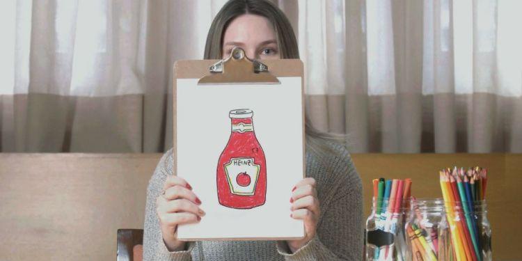Desenhe Um Ketchup