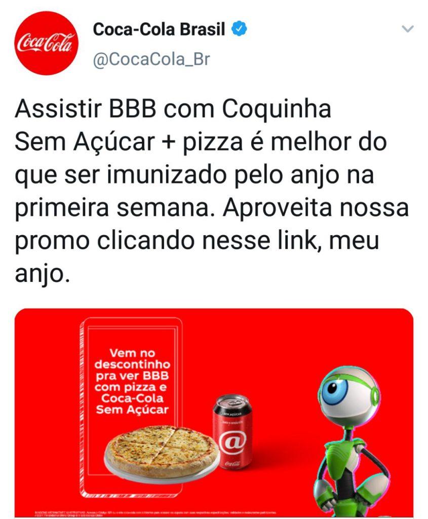 Assistir BBB Com Coca-Cola Zero
