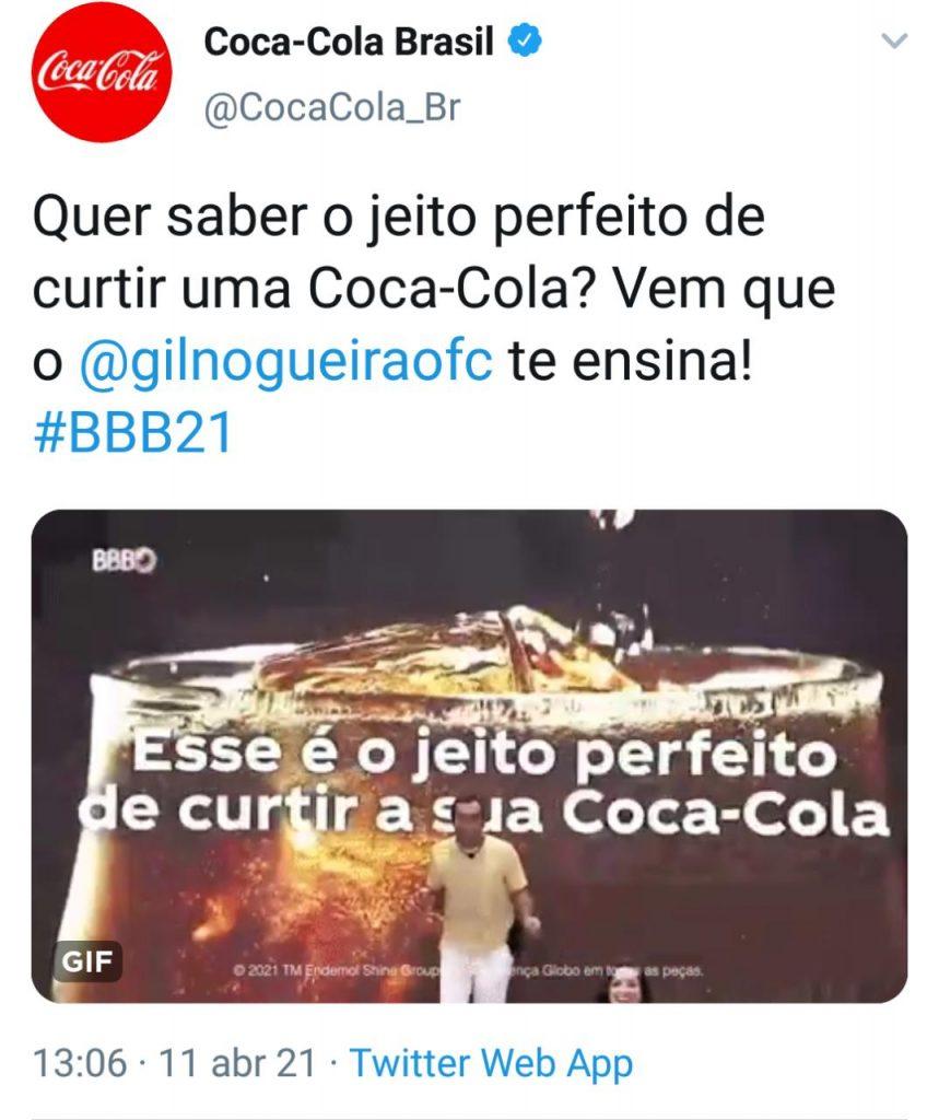 Gilberto Te Ensina A Curtir Uma Coca-Cola