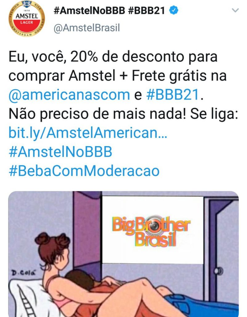 20% De Desconto Para Comprar Amstel