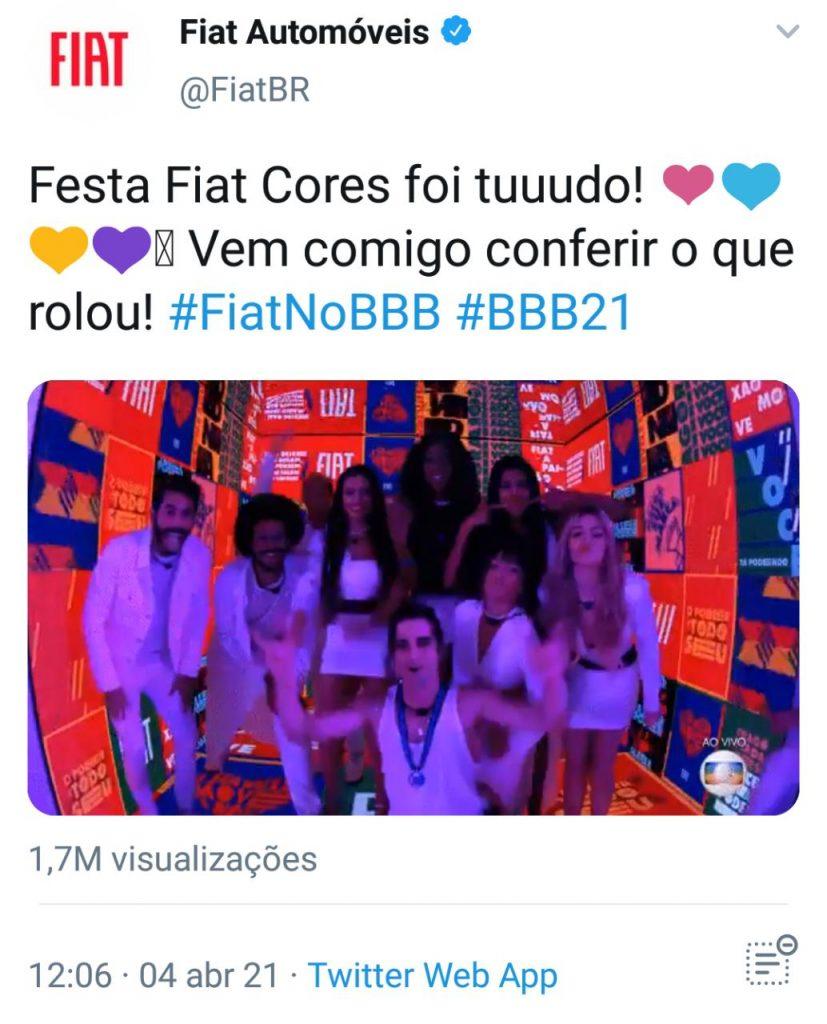 Venha Conferir Festa Fiat Cores