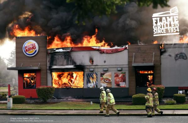 Recorde De Mais Restaurantes Incendiados