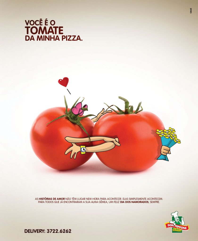 Você É O Tomate Da Minha Pizza