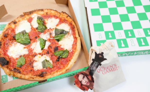 Netflix Lança Pizzas Temáticas