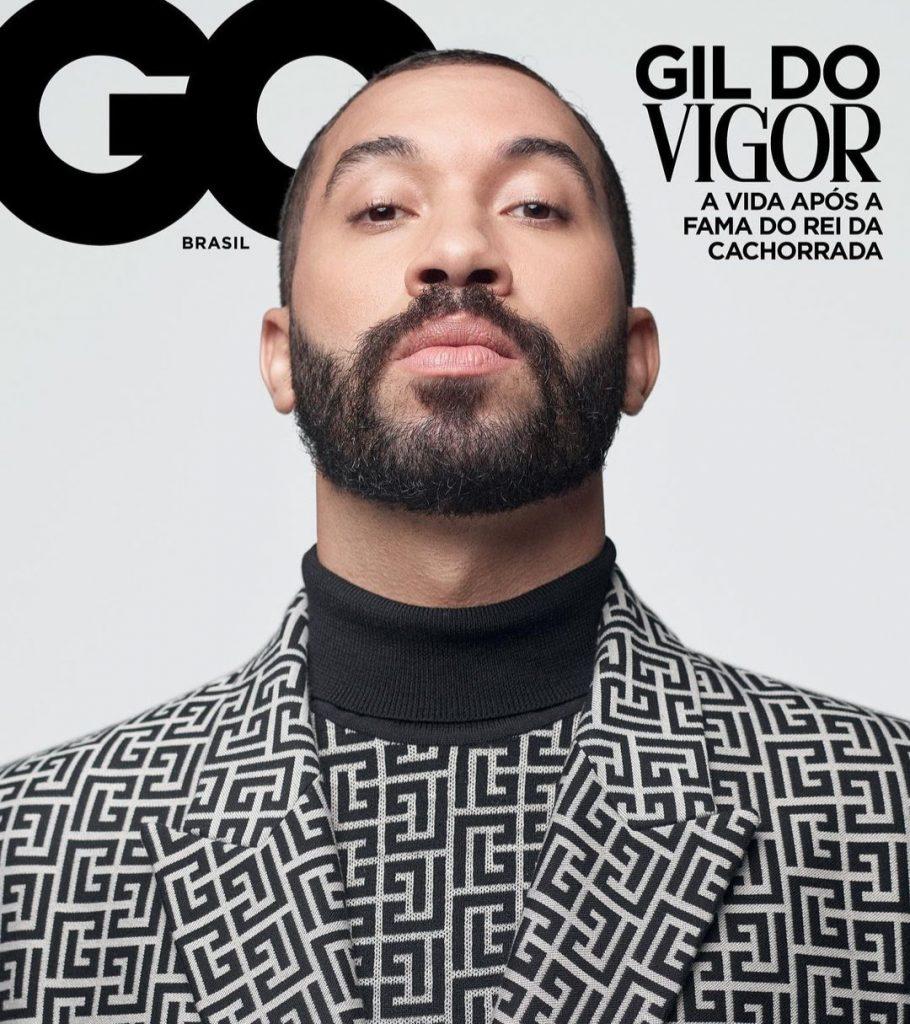 Gil É A Capa Da GQ Brasil