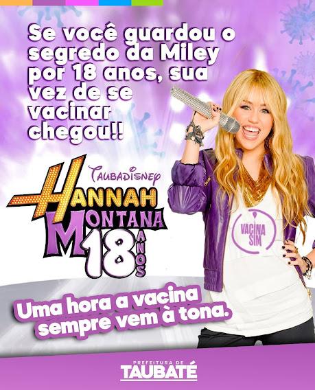 Miley? Ou Hannah?