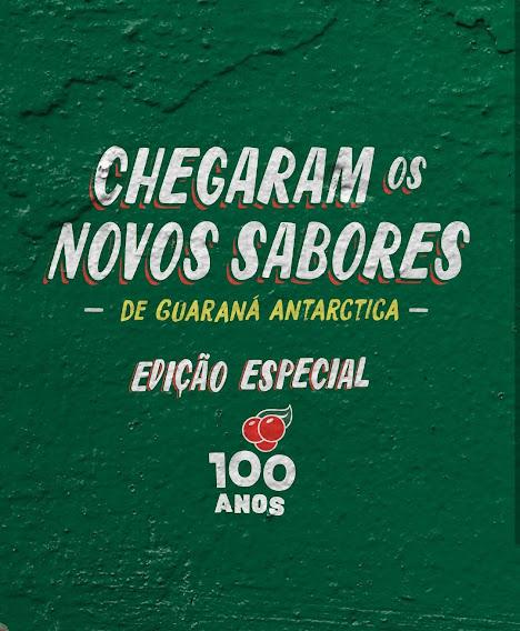 Novos Sabores De Guaraná Antarctica