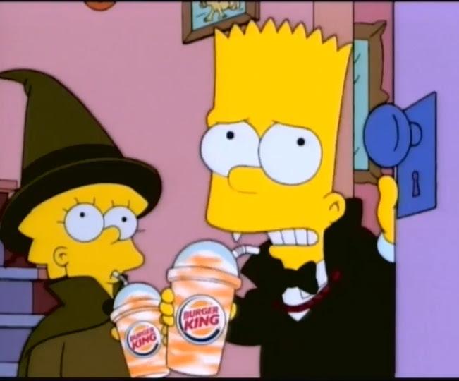 Os Simpsons No Halloween